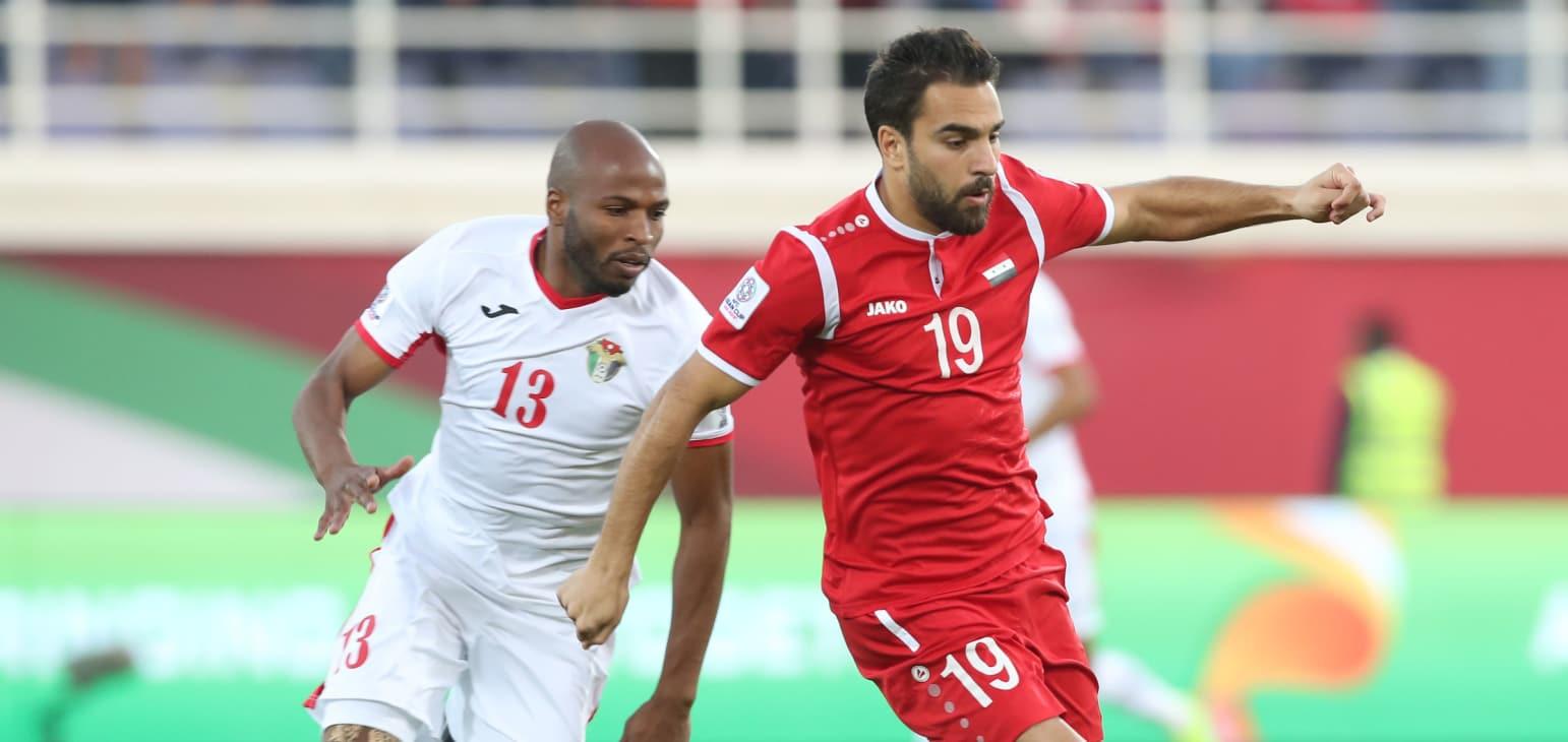 اردن 2 - سوریه 0/پایان نیمه نخست