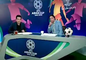 اظهارات مجری شبکه ورزش افغانستان درباره ایران + فیلم