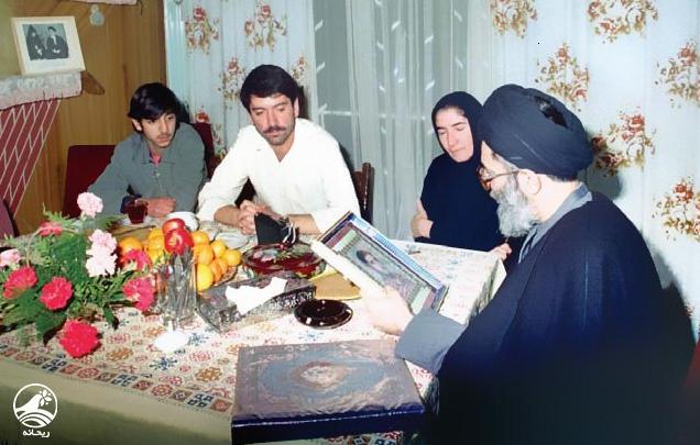 روایتی از حضور رهبر انقلاب در منزل شهید ژانی بتاوشانا