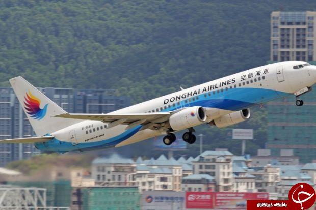 اقدام عجیب خلبان چینی حین پرواز در آسمان!