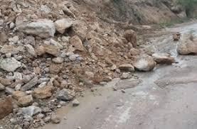 مشکلات تردد در مسیر روستای عرب رودبار