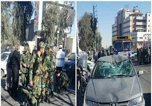 ️مجروح شدن چند سرباز ارتش در سانحه بلوار الغدیرقم