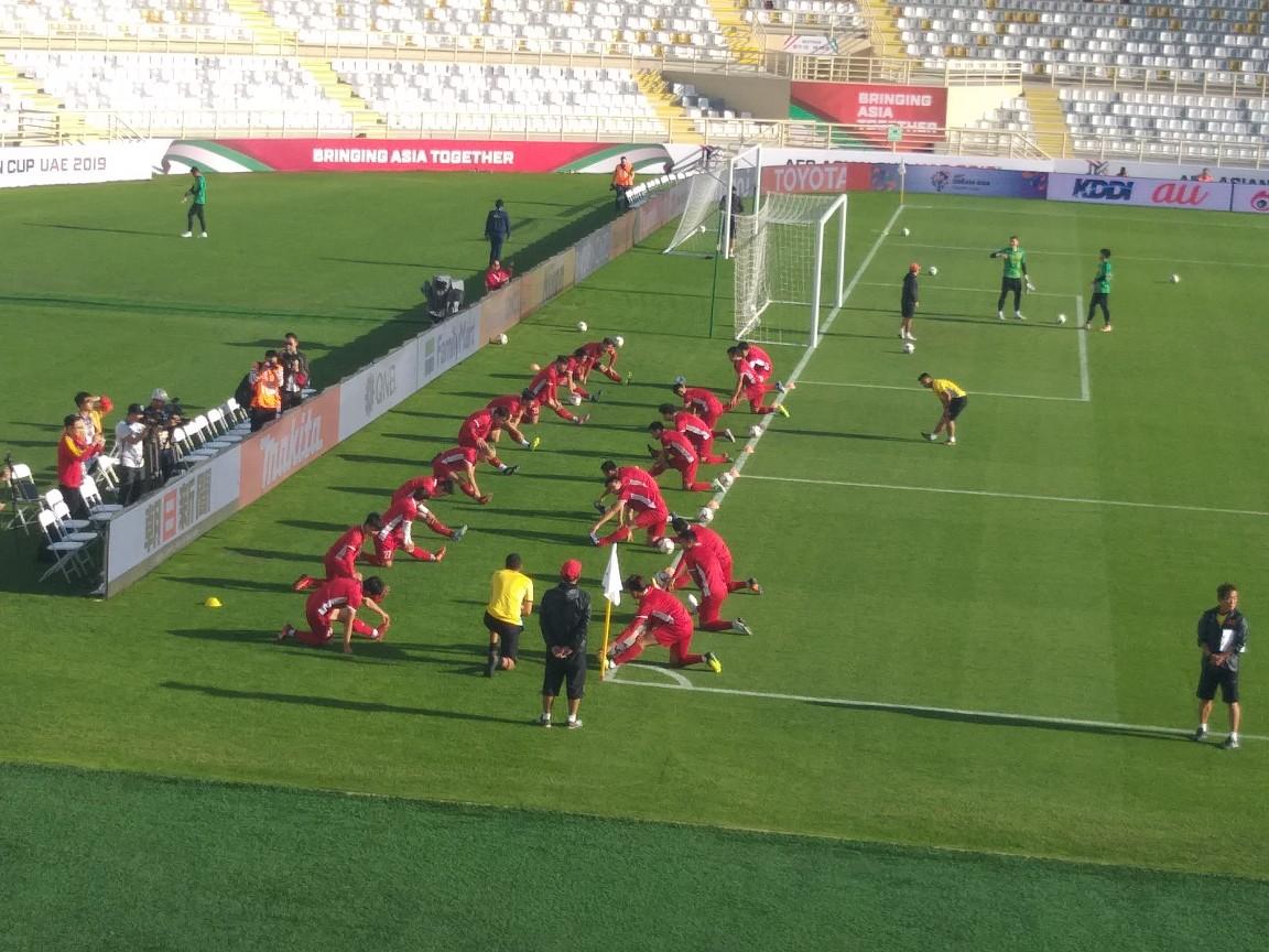 آخرین تمرین تیم ملی ویتنام پیش از دیدار مقابل ایران برگزار شد