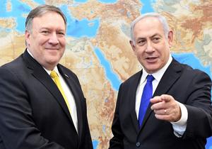 دعوت پمپئو از نتانیاهو برای شرکت در همایشی بینالمللی علیه ایران
