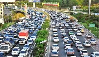 وضعیت ترافیکی معابر تهران در اولین روز هفته