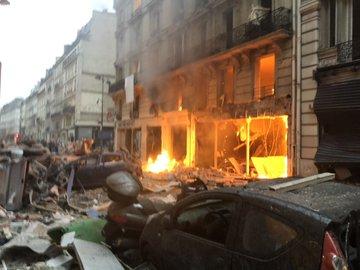 وقوع انفجاری مهیب در پاریس