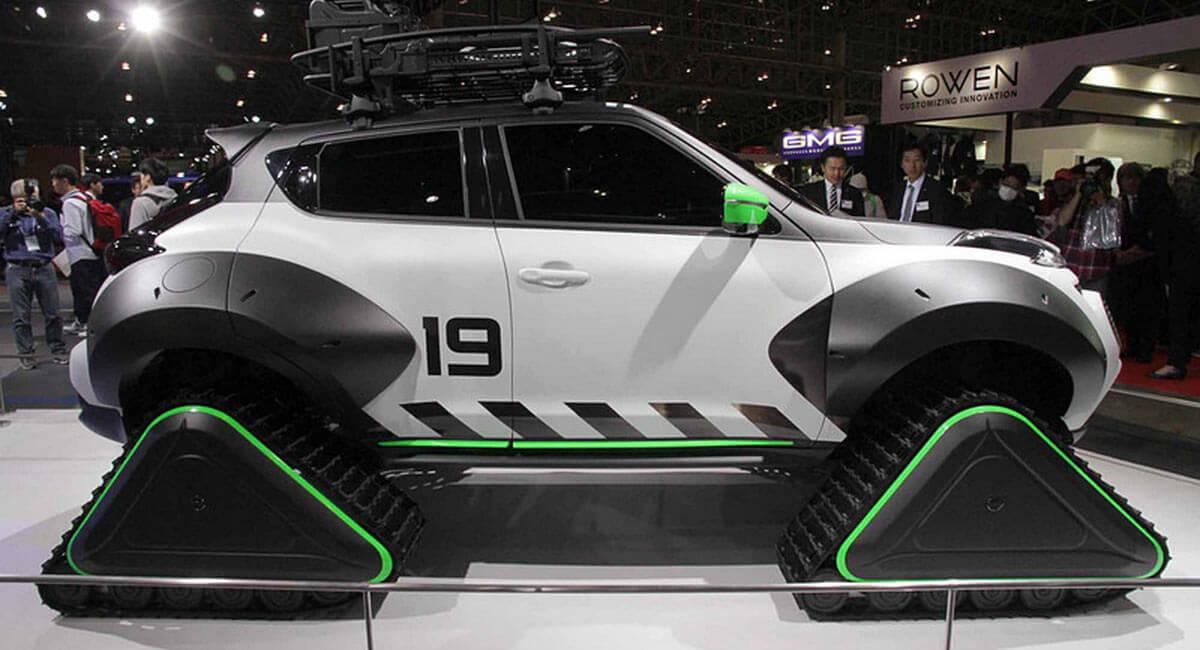 موانع برای اسنومبیل نیسان جوک معنی ندارند! +تصاویر