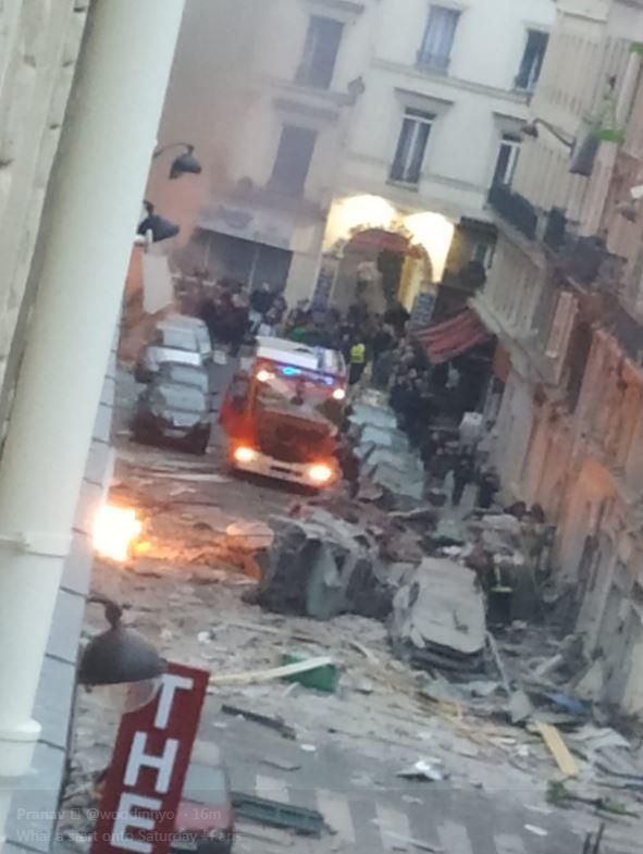 وقوع انفجار مهیب در پاریس+ تصاویر