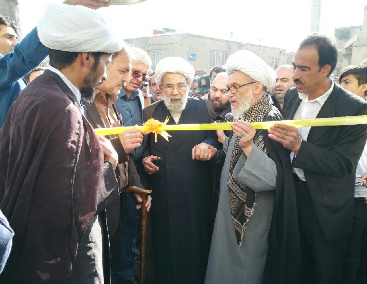 افتتاح مسجد امام حسن عسکری (ع) در تایباد