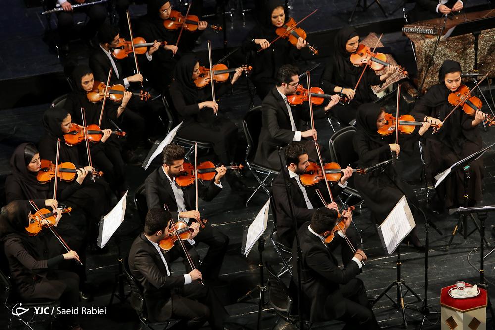 استقبال مخاطبان تبریزی از اجرای ارکسترملی ایران