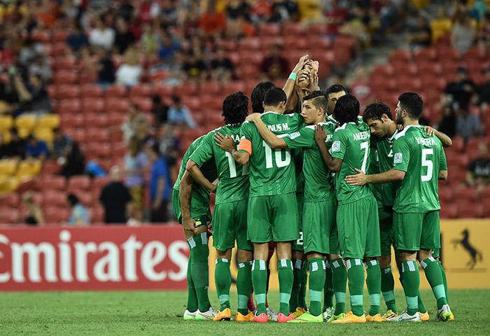 عراق 2- یمن صفر/ پایان نیمه اول