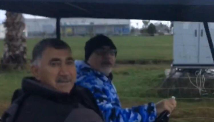 رانندگی سرپرست استقلال در اردوی ترکیه