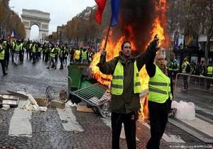 جلیقهزردها نمایندگان پارلمان فرانسه را به مرگ تهدید کردند