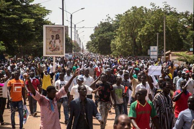 تظاهرکنندگان بورکینافاسویی محاکمه عوامل خشونت را خواستار شدند