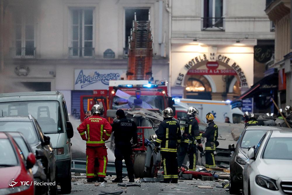 احتمال افزایش شمار قربانیان انفجار گاز در پاریس