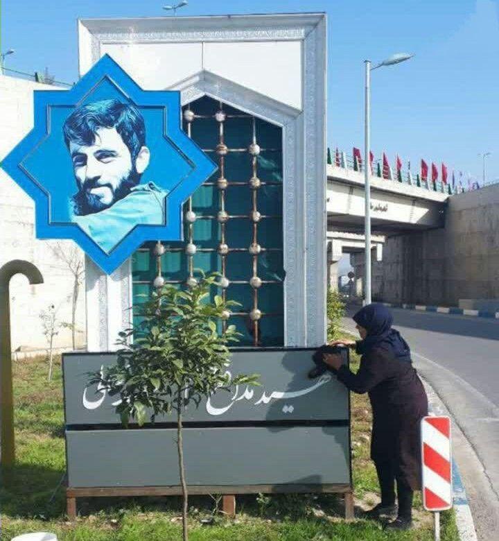 اقدام جانسوز مادر شهید مدافع حرمی که هنوز گمنام است +عکس