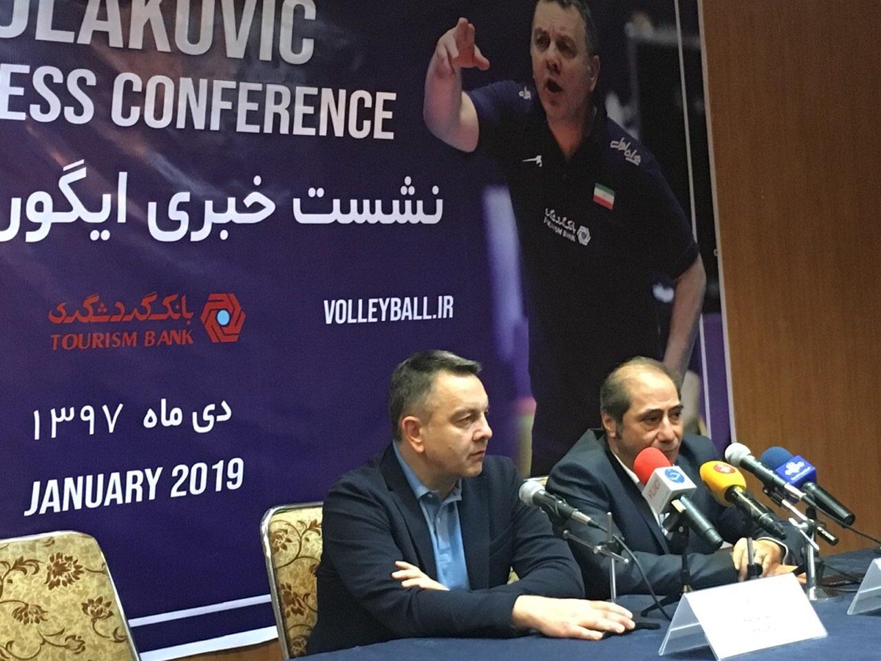 کولاکوویچ: از ضیایی بپرسید چرا من را نمیخواست/ برنامه فشردهای پیش روی تیم ملی والیبال است