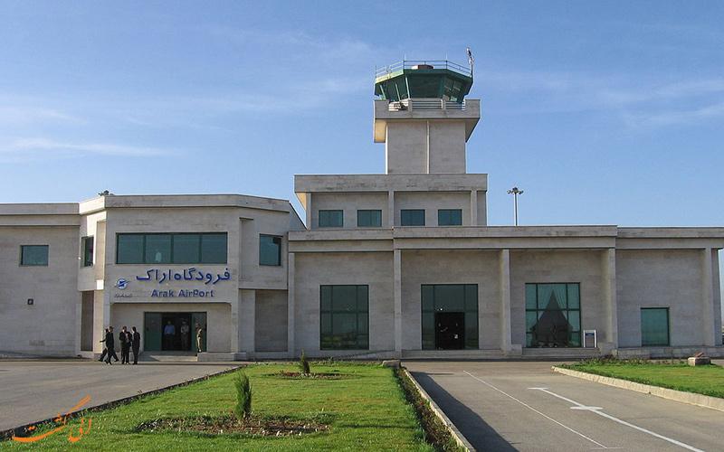فرودگاه اراک عاری از پروازهای مادر است/رونق پرواز حمایت مدیران را میطلبد