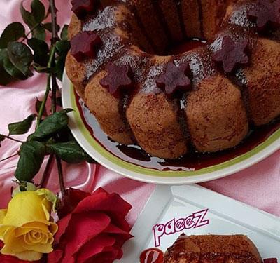 طرز تهیه یک نوع کیک خوشمزه زمستانی