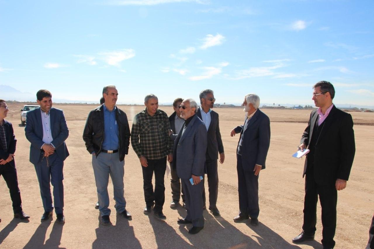 افتتاح باند دوم فرودگاه کرمان در هفته دولت