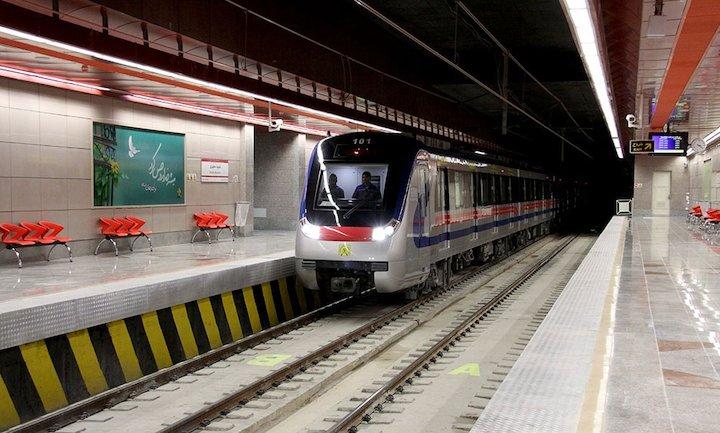 افتتاح بخشی از ایستگاه مترو امام حسین