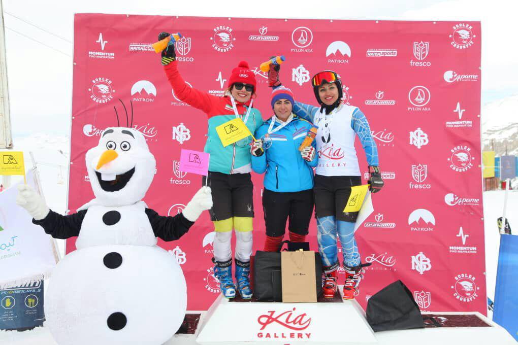 نائب قهرمانی اسکی باز فارس در مسابقات کشوری