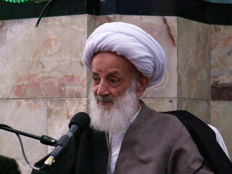 عکسی از دیدار حضرت آیتالله مجتهدی تهرانی با رهبرانقلاب
