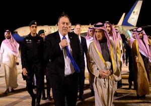 وزیر خارجه آمریکا وارد عربستان شد