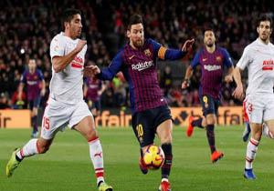خلاصه بازی بارسلونا و ایبار در ۲۳ دی ۹۷ + فیلم