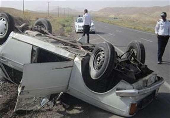 باشگاه خبرنگاران - واژگونی وانت پیکان به قیمت جان راننده تمام شد