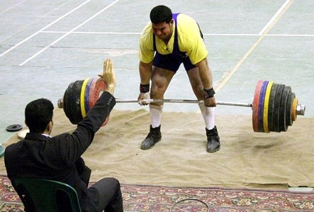 درخشش ورزشکاران استان در مسابقات دد لیفت قهرمانی کشور