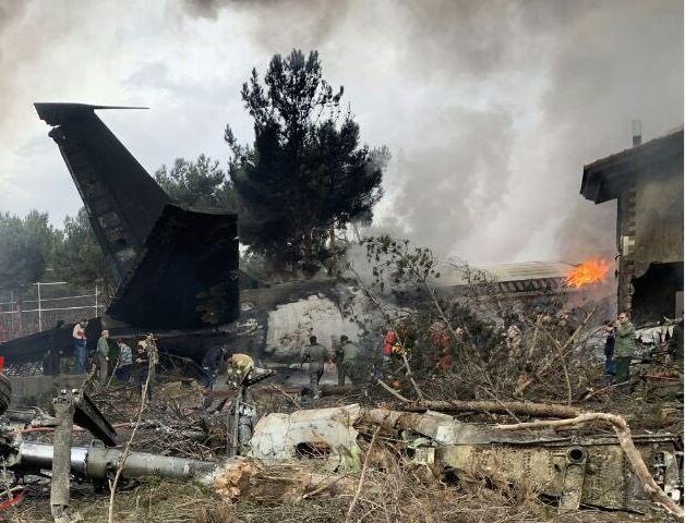 سقوط هواپیمای بوئینگ ۷۰۷ باری قرقیزستان حوالی کرج