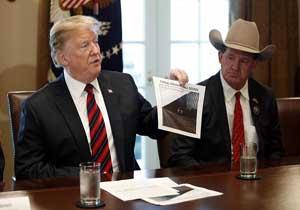 آیا ترامپ میتواند با اعلام وضعیت اضطراری دیوار مرزی مکزیک را بسازد؟