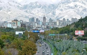 شاخص هوای تهران در تاریخ ۲۴ دی ماه / هوای تهران در شرایط سالم قرار دارد