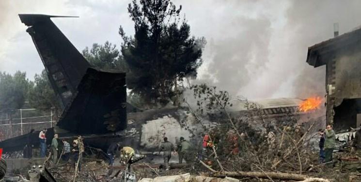 سقوط هواپیمای غیرمسافربری در صفادشت کرج  تعداد مصدومان و فوتیها