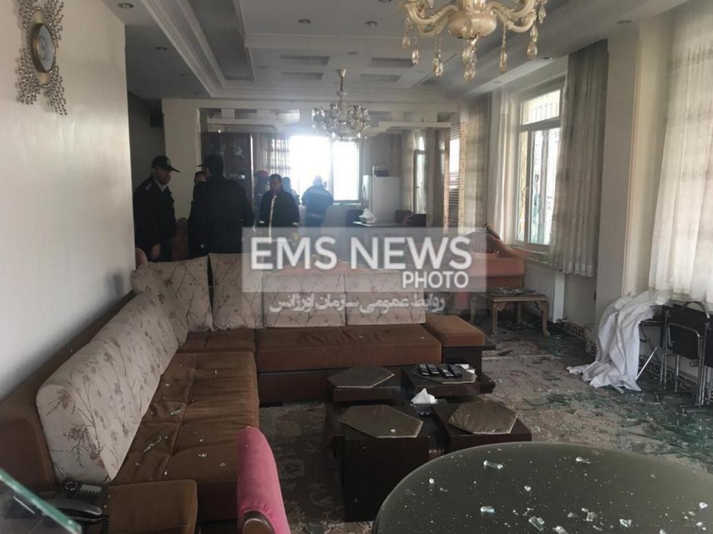 سه عکس جدید از محل سقوط هواپیما در کرج