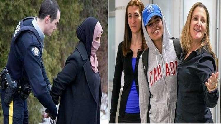 برخورد متناقض کانادا با دختران پناهنده عربستانی و یمنی