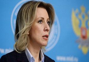 زاخارووا: معلوم نیست مذاکرات دو جانبه مسکو و توکیو چه ارتباطی به آمریکا دارد