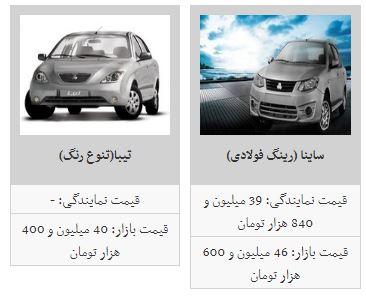 ثبات در بازار خودرو+جدول