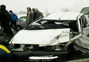 ۲ کشته در حادثه رانندگی در آزادراه پیامبراعظم (ص)