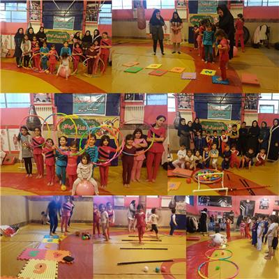 اجرای طرح تطبیقی بازی و ورزش کودکان در رزن