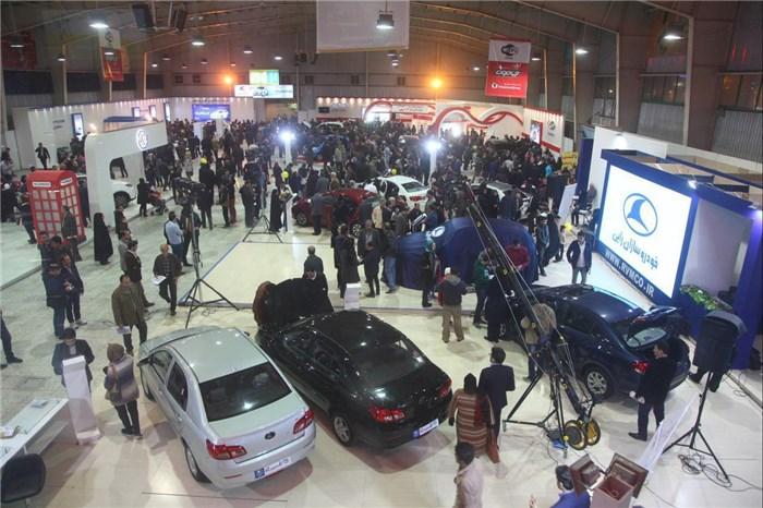 آغاز بکار نمایشگاه صنعت خودروی اراک از فردا دوشنبه