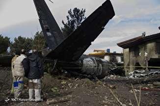 گزارش تصویری سقوط هواپیمای ۷۰۷ بوئینگ در کرج