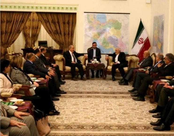 نخست وزیر و رئیس مجلس سابق عراق با ظریف دیدار کردند