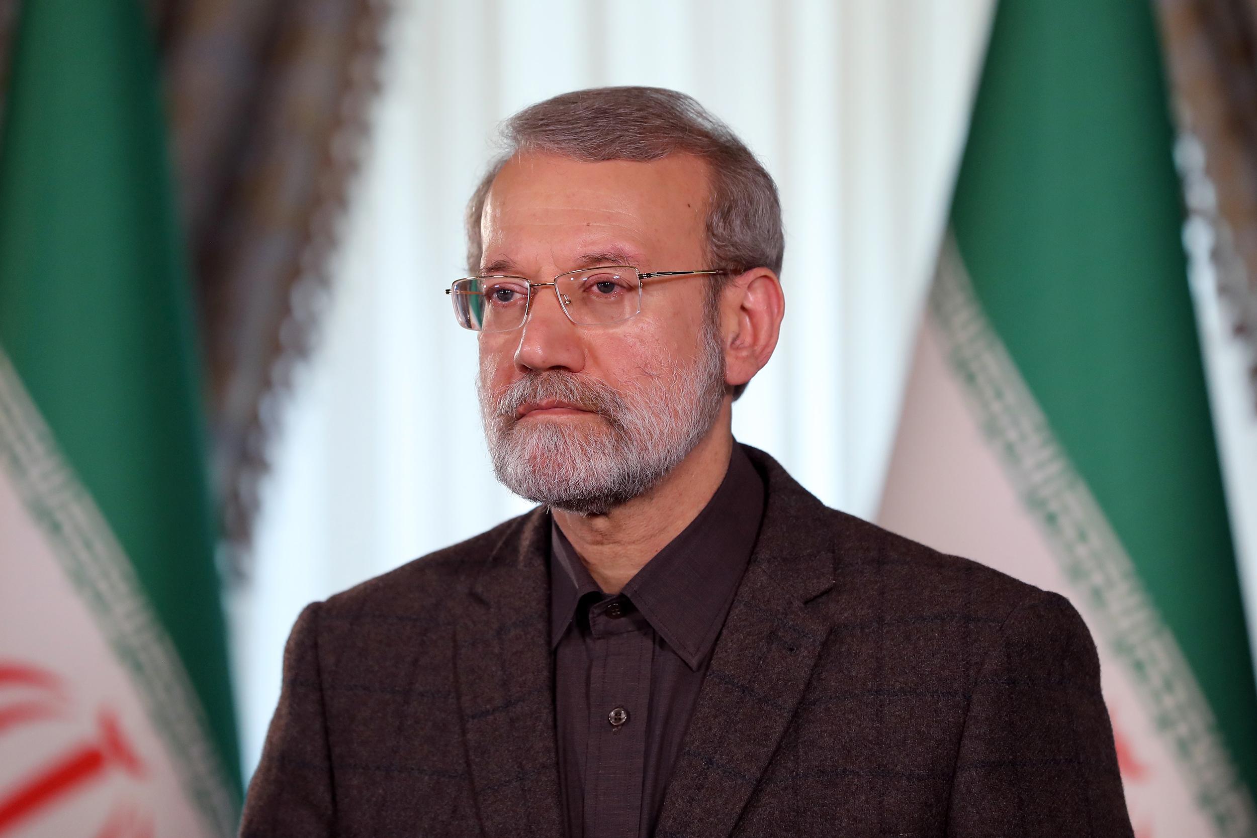لاریجانی حادثه سقوط هواپیمای بوئینگ ۷۰۷ را تسلیت گفت