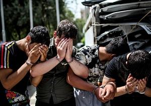 ۴ سارق حرفهای منزل در اهواز دستگیر شدند
