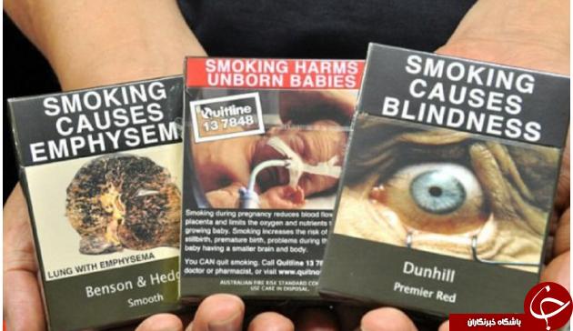 ترسناکترین پاکتهای سیگار در دنیا +تصاویر