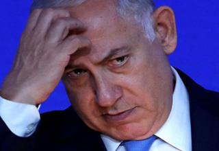 سوتی مفتضحانه نتانیاهو هنگام اعطای درجه به رئیس ستاد ارتش + فیلم