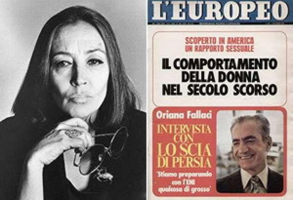 باشگاه خبرنگاران -نکاتی خواندنی از مصاحبه شاه با خبرنگار معروف ایتالیایی
