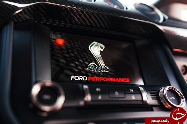 فورد شلبی جیتی ۵۰۰ سریعترین و قویترین موستانگ جهان +تصاویر